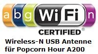 WLAN-N USB Adapter fr A200/210 